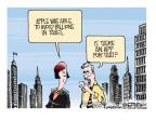 Cartoonist Mike Smith  Mike Smith's Editorial Cartoons 2013-05-23 apple