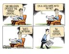 Cartoonist Mike Smith  Mike Smith's Editorial Cartoons 2013-06-30 summer