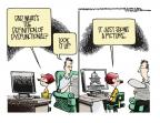 Cartoonist Mike Smith  Mike Smith's Editorial Cartoons 2013-07-23 dad