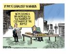Cartoonist Mike Smith  Mike Smith's Editorial Cartoons 2014-01-31 legal
