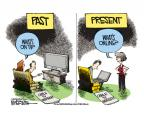 Cartoonist Mike Smith  Mike Smith's Editorial Cartoons 2014-02-19 cable television