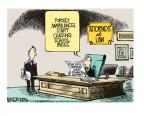 Cartoonist Mike Smith  Mike Smith's Editorial Cartoons 2014-03-07 legal