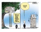 Cartoonist Mike Smith  Mike Smith's Editorial Cartoons 2014-03-27 Iran