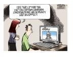 Cartoonist Mike Smith  Mike Smith's Editorial Cartoons 2014-04-03 legal