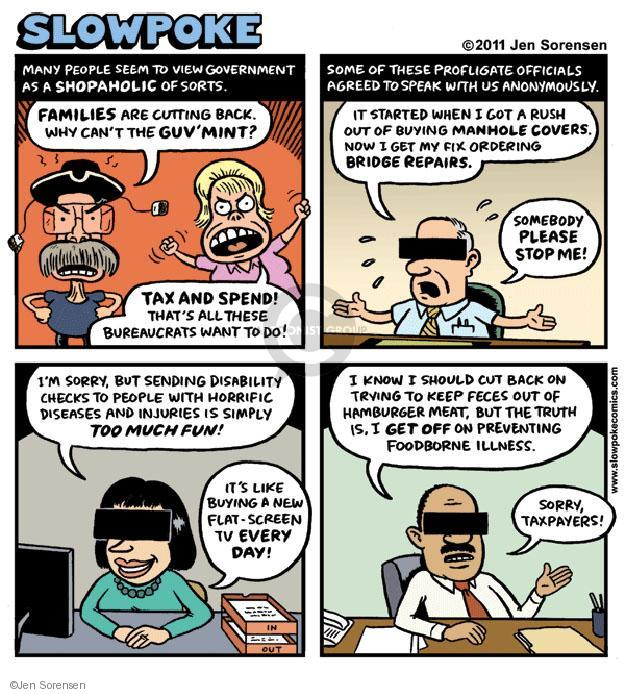 Cartoonist Jen Sorensen  Jen Sorensen's Editorial Cartoons 2011-01-01 safety net