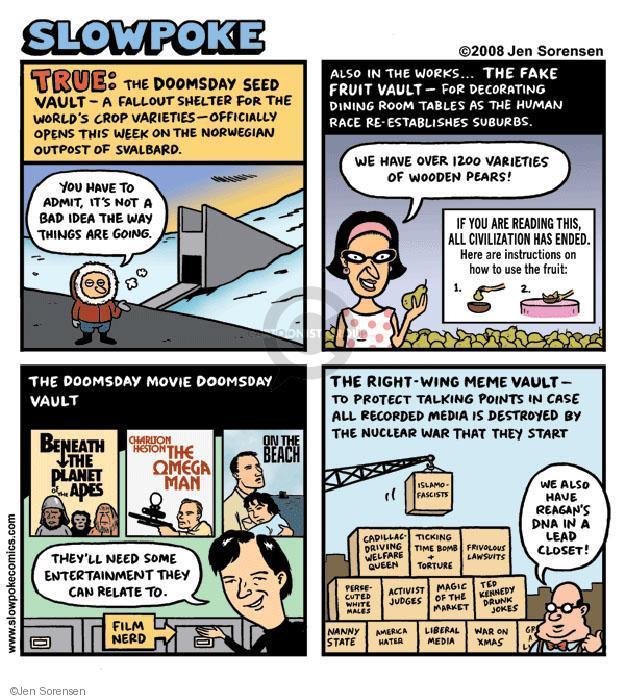 Cartoonist Jen Sorensen  Jen Sorensen's Editorial Cartoons 2008-01-01 protect