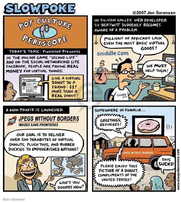 Cartoonist Jen Sorensen  Jen Sorensen's Editorial Cartoons 2007-01-01 profit