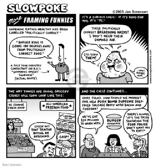 Cartoonist Jen Sorensen  Jen Sorensen's Editorial Cartoons 2005-01-01 look for work