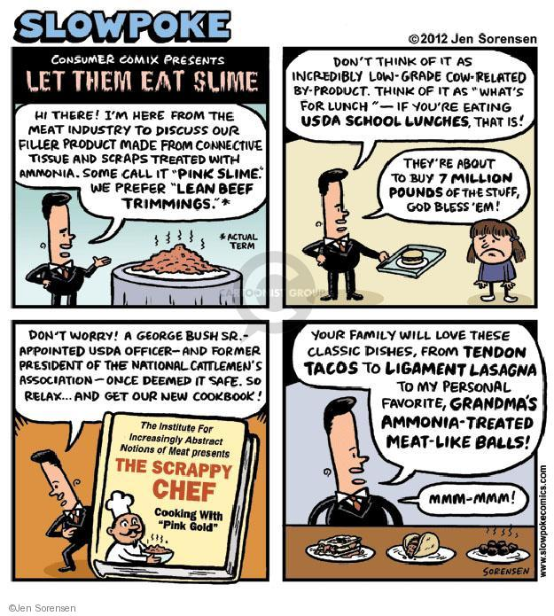 Cartoonist Jen Sorensen  Jen Sorensen's Editorial Cartoons 2012-06-01 eat