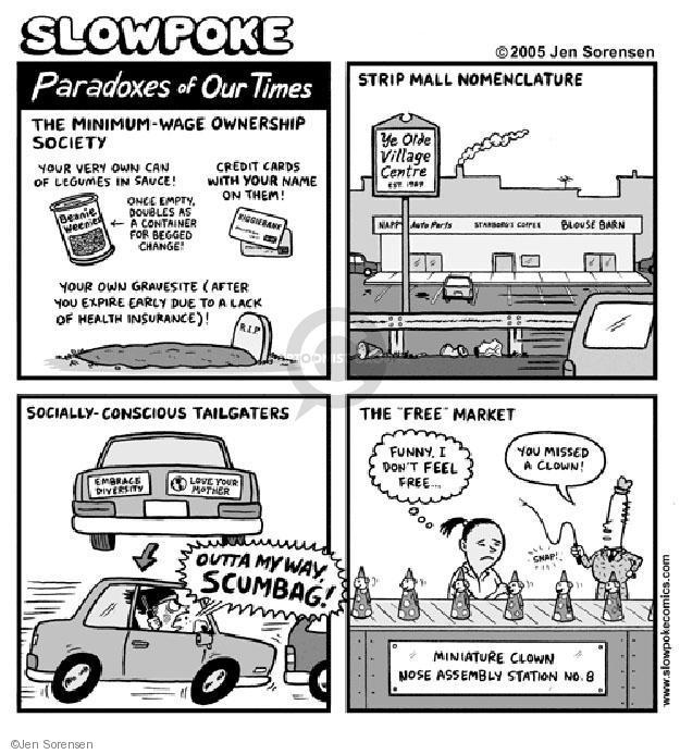 Jen Sorensen  Jen Sorensen's Editorial Cartoons 2005-01-01 road