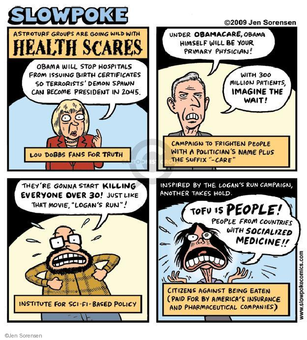 Cartoonist Jen Sorensen  Jen Sorensen's Editorial Cartoons 2009-01-01 fear