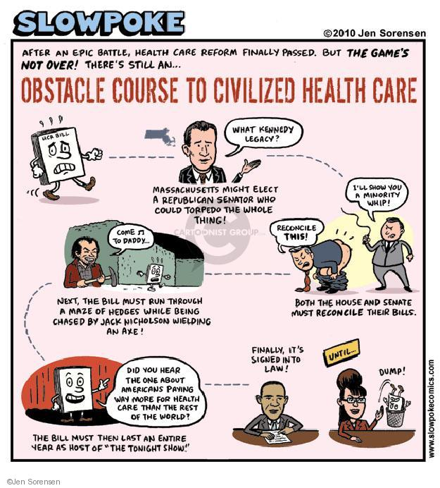 Cartoonist Jen Sorensen  Jen Sorensen's Editorial Cartoons 2010-01-01 health care reform