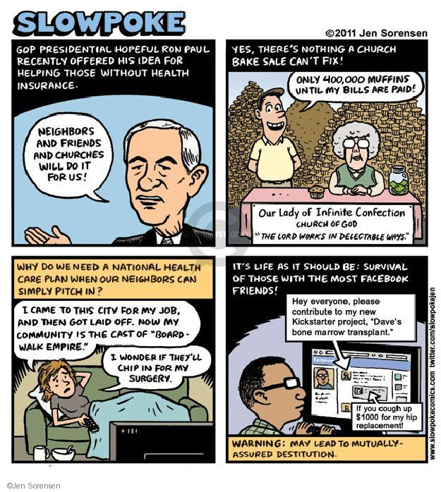 Cartoonist Jen Sorensen  Jen Sorensen's Editorial Cartoons 2011-01-01 health care reform