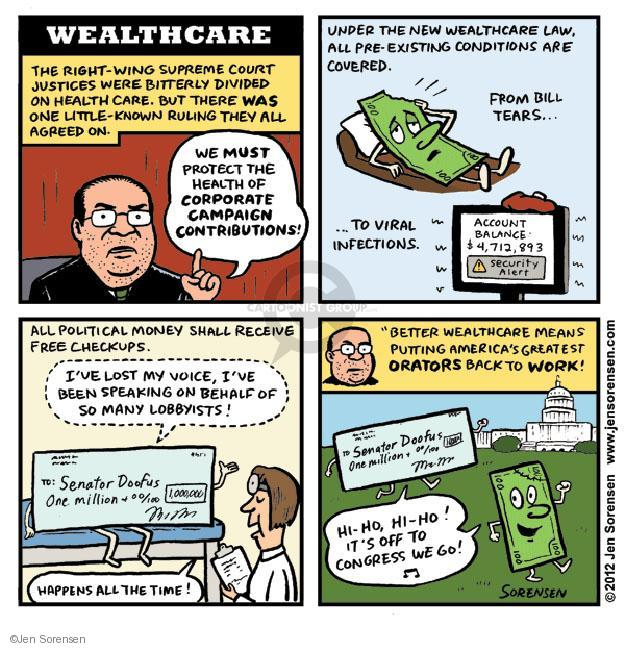 Cartoonist Jen Sorensen  Jen Sorensen's Editorial Cartoons 2012-08-01 health care reform