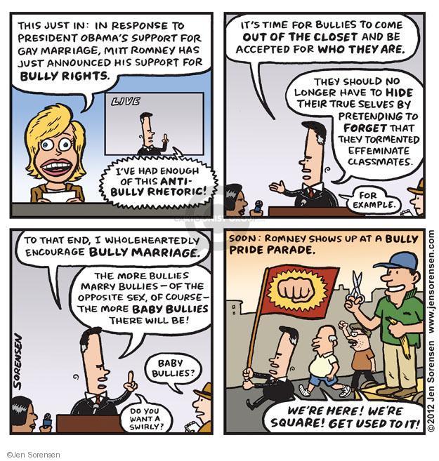 Cartoonist Jen Sorensen  Jen Sorensen's Editorial Cartoons 2012-05-14 presidential election