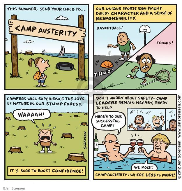 Cartoonist Jen Sorensen  Jen Sorensen's Editorial Cartoons 2012-06-18 camp