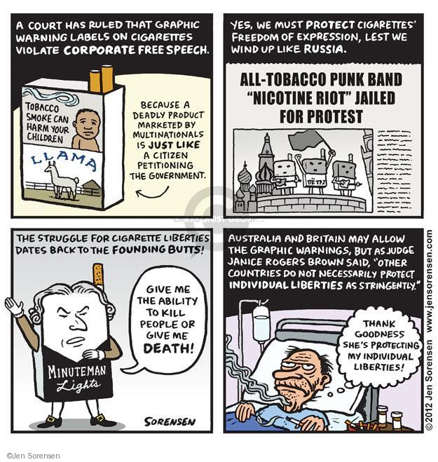 Cartoonist Jen Sorensen  Jen Sorensen's Editorial Cartoons 2012-08-27 first amendment