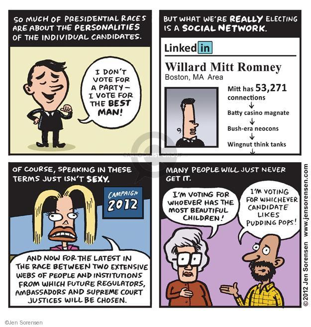 Cartoonist Jen Sorensen  Jen Sorensen's Editorial Cartoons 2012-09-17 presidential