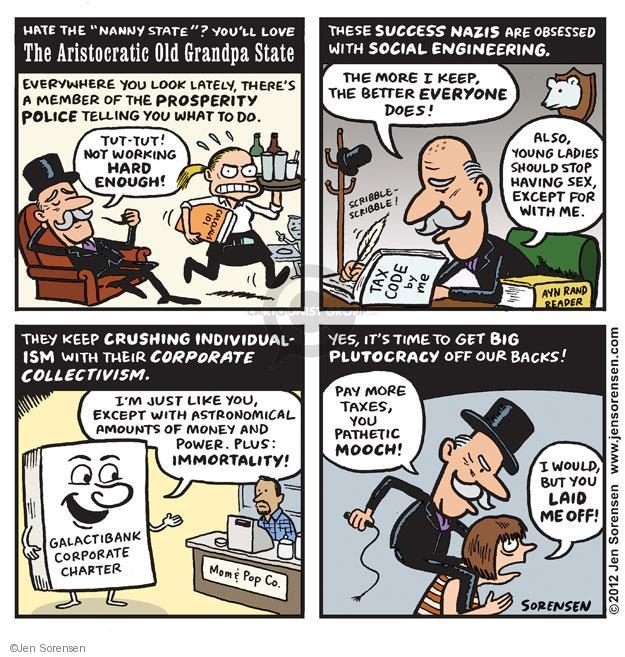Jen Sorensen  Jen Sorensen's Editorial Cartoons 2012-09-24 employment
