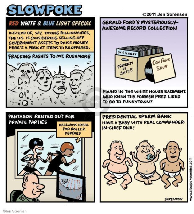 Cartoonist Jen Sorensen  Jen Sorensen's Editorial Cartoons 2011-10-30 presidential
