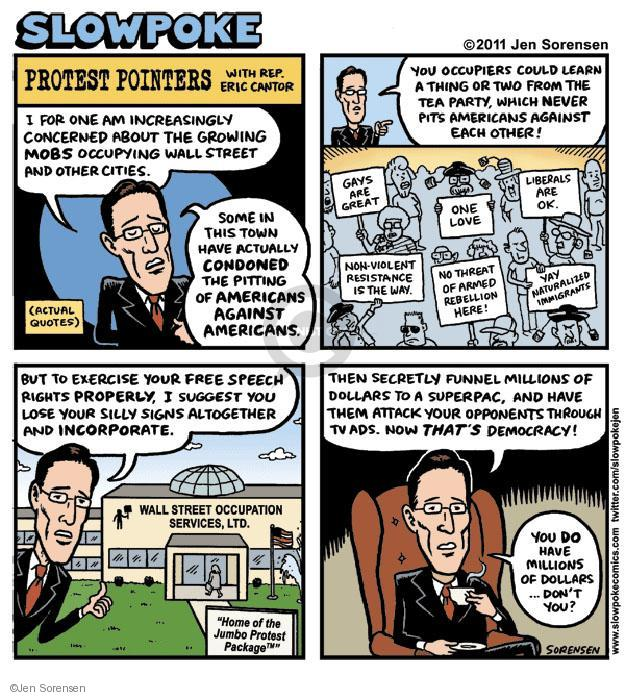 Cartoonist Jen Sorensen  Jen Sorensen's Editorial Cartoons 2011-11-05 first amendment