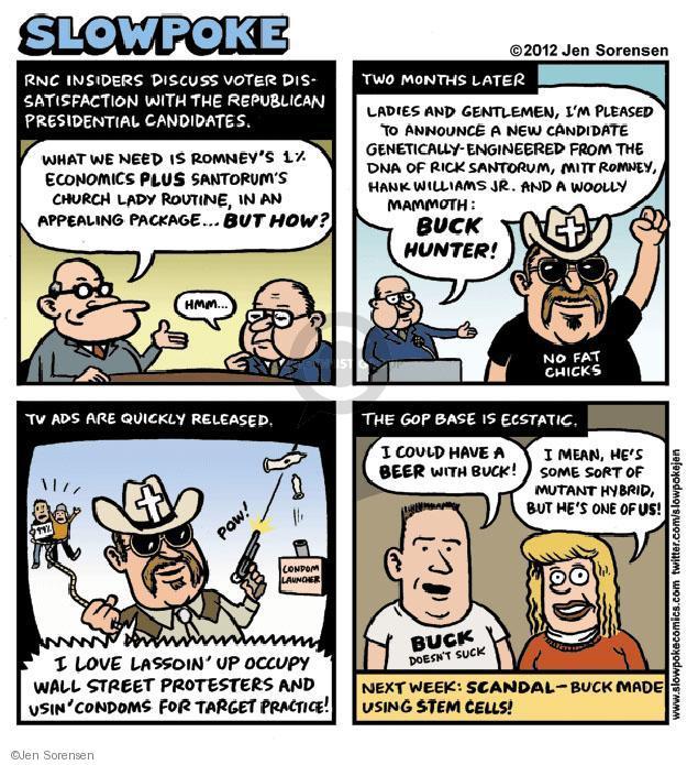 Cartoonist Jen Sorensen  Jen Sorensen's Editorial Cartoons 2012-02-20 presidential election