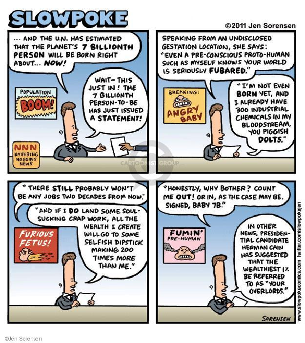 Cartoonist Jen Sorensen  Jen Sorensen's Editorial Cartoons 2011-11-16 presidential