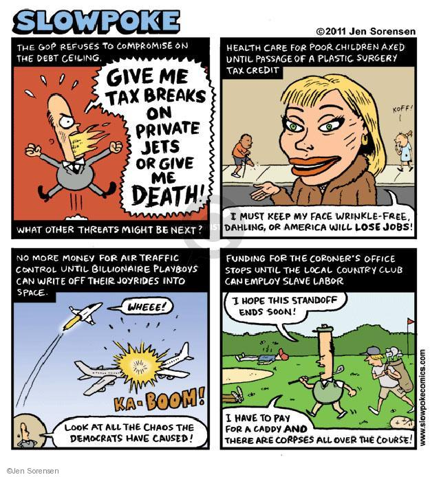 Cartoonist Jen Sorensen  Jen Sorensen's Editorial Cartoons 2011-06-11 give