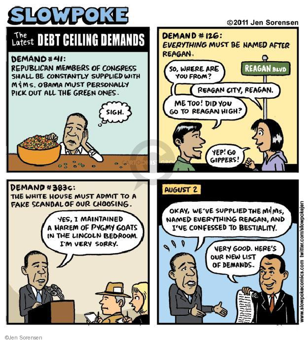 Cartoonist Jen Sorensen  Jen Sorensen's Editorial Cartoons 2011-05-28 political scandal