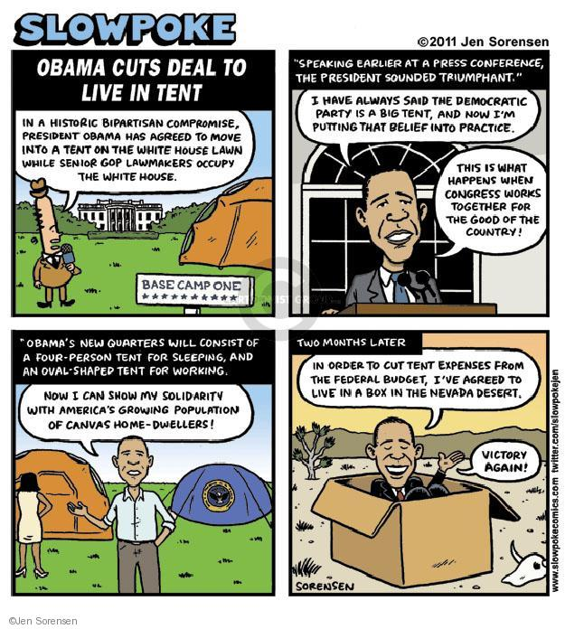 Cartoonist Jen Sorensen  Jen Sorensen's Editorial Cartoons 2011-09-29 camp