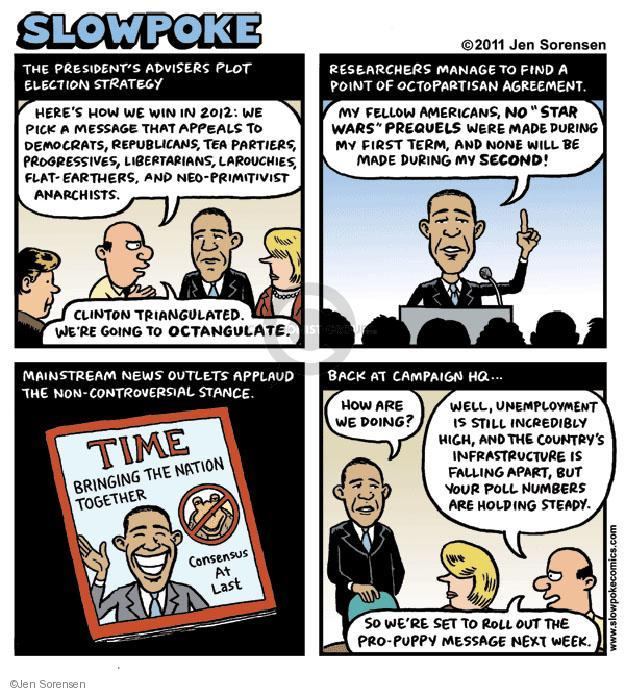 Cartoonist Jen Sorensen  Jen Sorensen's Editorial Cartoons 2011-05-07 presidential