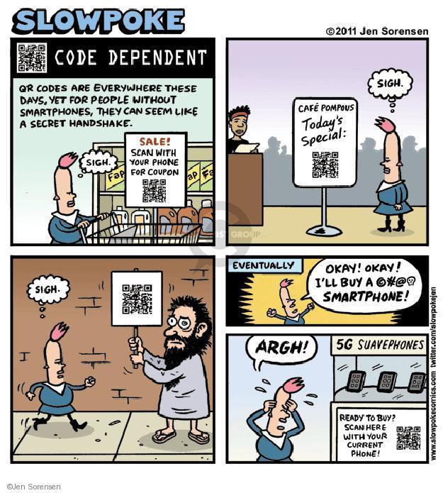 Jen Sorensen's Editorial Cartoons - IPhone Comics And
