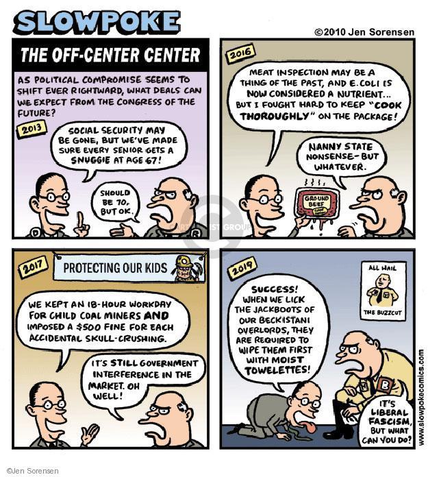 Jen Sorensen  Jen Sorensen's Editorial Cartoons 2010-12-20 beef
