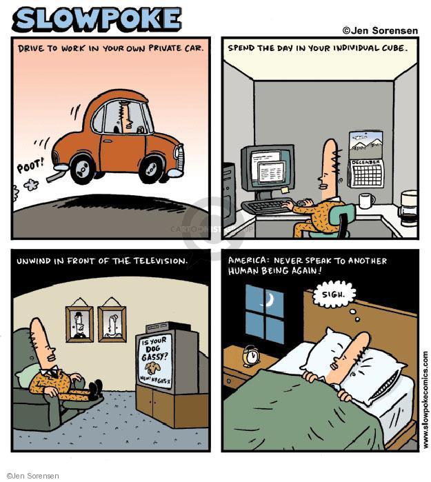 Cartoonist Jen Sorensen  Jen Sorensen's Editorial Cartoons 2010-12-27 television