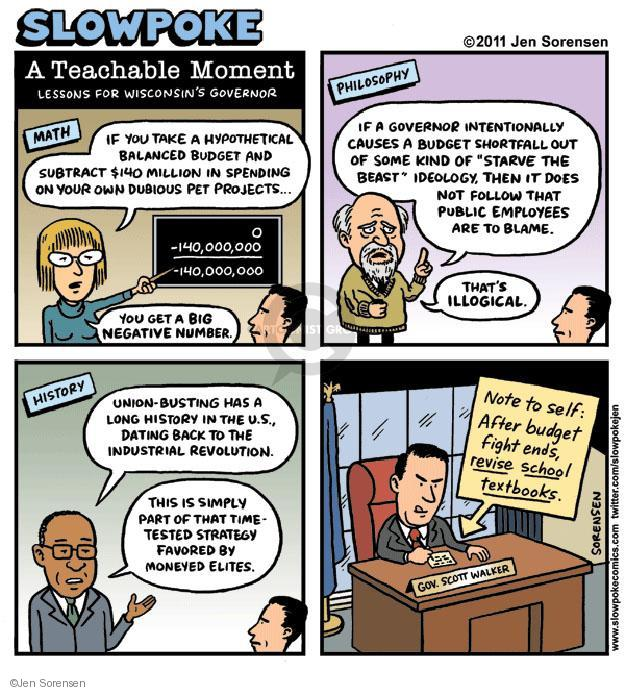 Cartoonist Jen Sorensen  Jen Sorensen's Editorial Cartoons 2011-10-10 employee