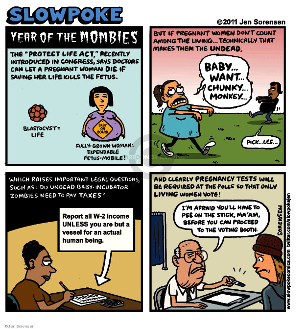 Jen Sorensen  Jen Sorensen's Editorial Cartoons 2011-10-24 voting rights act