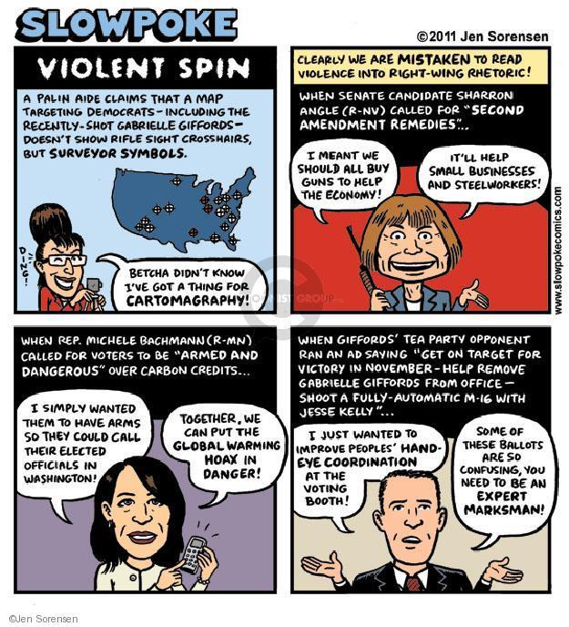 Cartoonist Jen Sorensen  Jen Sorensen's Editorial Cartoons 2011-11-21 target