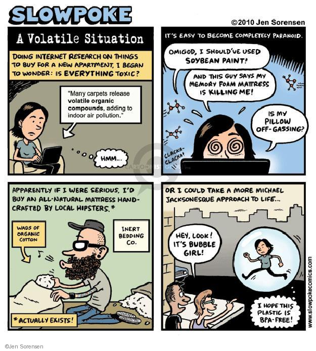 Cartoonist Jen Sorensen  Jen Sorensen's Editorial Cartoons 2010-09-05 fear