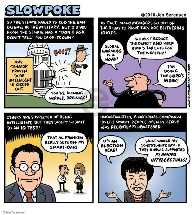 Cartoonist Jen Sorensen  Jen Sorensen's Editorial Cartoons 2010-10-03 filibuster