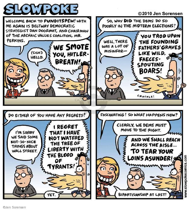 Cartoonist Jen Sorensen  Jen Sorensen's Editorial Cartoons 2010-11-08 partisan