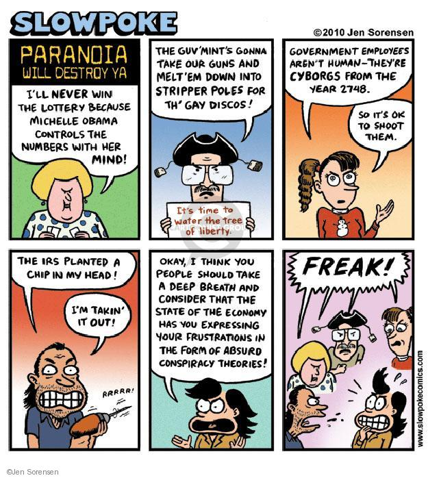 Cartoonist Jen Sorensen  Jen Sorensen's Editorial Cartoons 2010-04-05 employee