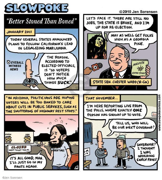 Cartoonist Jen Sorensen  Jen Sorensen's Editorial Cartoons 2010-05-03 bake
