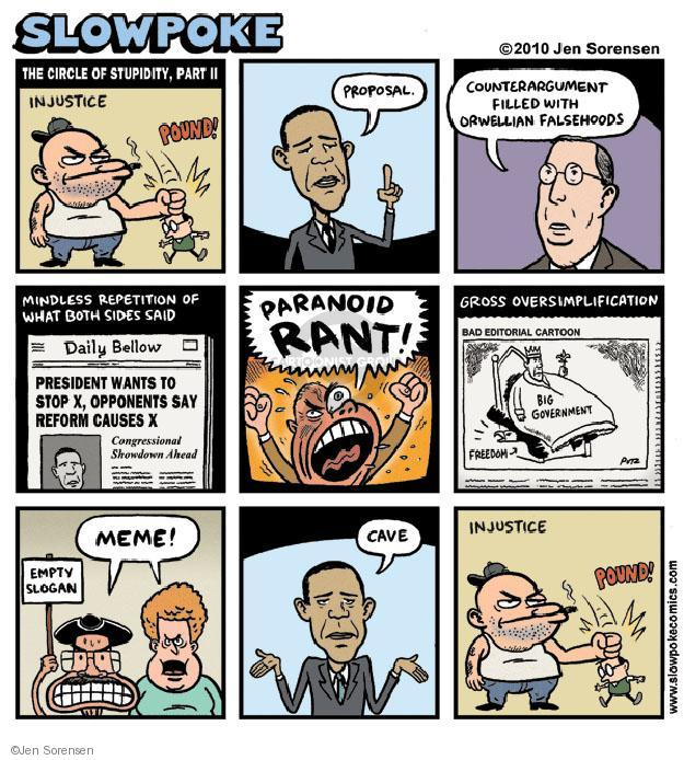 Cartoonist Jen Sorensen  Jen Sorensen's Editorial Cartoons 2010-05-17 reform