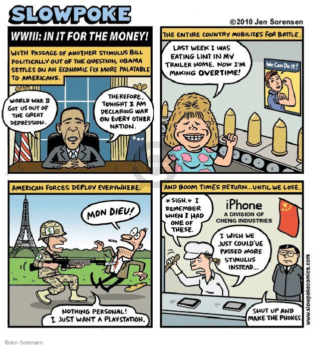 Cartoonist Jen Sorensen  Jen Sorensen's Editorial Cartoons 2010-07-25 remember