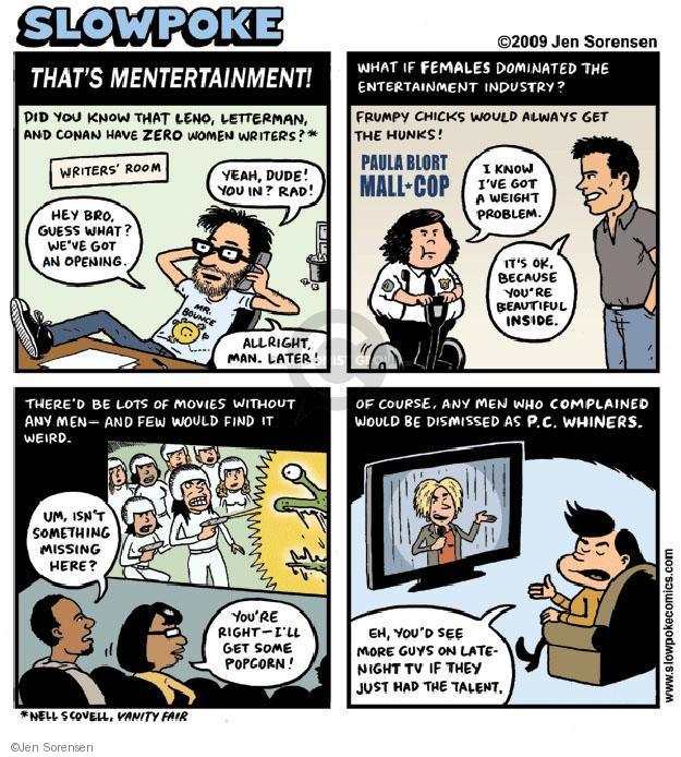Cartoonist Jen Sorensen  Jen Sorensen's Editorial Cartoons 2009-11-16 female issue