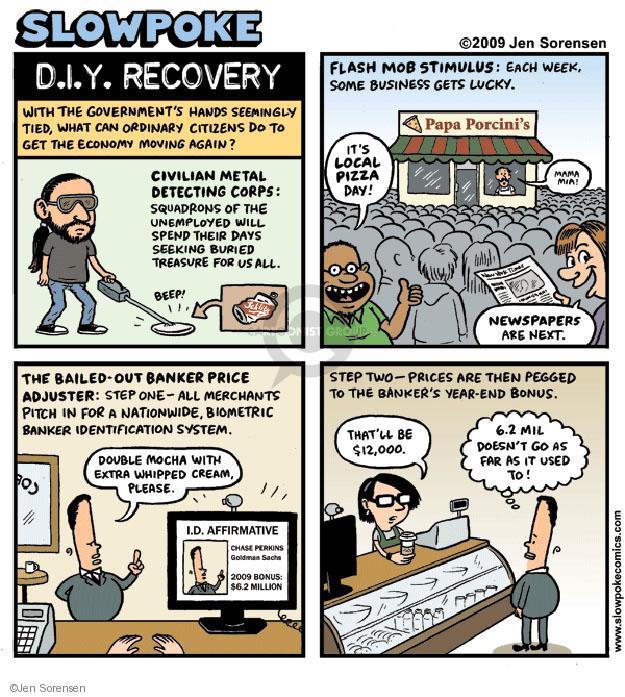 Jen Sorensen  Jen Sorensen's Editorial Cartoons 2009-11-30 $12
