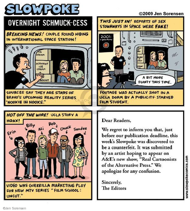 Cartoonist Jen Sorensen  Jen Sorensen's Editorial Cartoons 2009-12-07 marketing