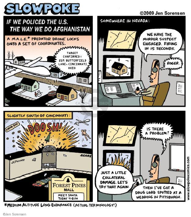Cartoonist Jen Sorensen  Jen Sorensen's Editorial Cartoons 2009-12-14 police