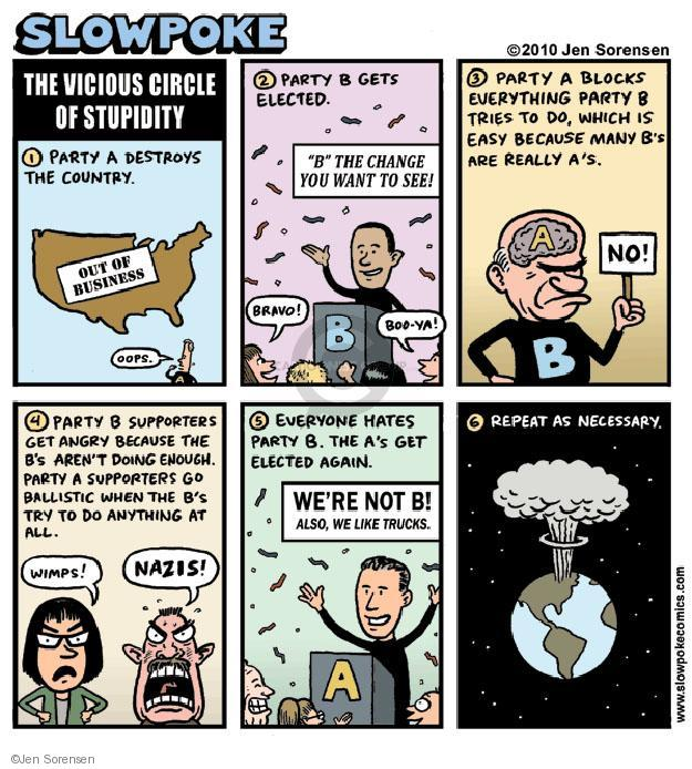 Cartoonist Jen Sorensen  Jen Sorensen's Editorial Cartoons 2010-02-22 partisan