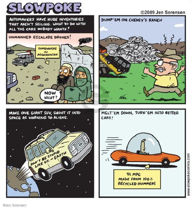 Jen Sorensen  Jen Sorensen's Editorial Cartoons 2009-07-06 stupid